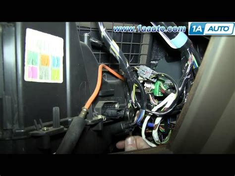 08 f250 blower motor resistor how to install replace ac heater blower fan motor ford f150 f250 html autos weblog