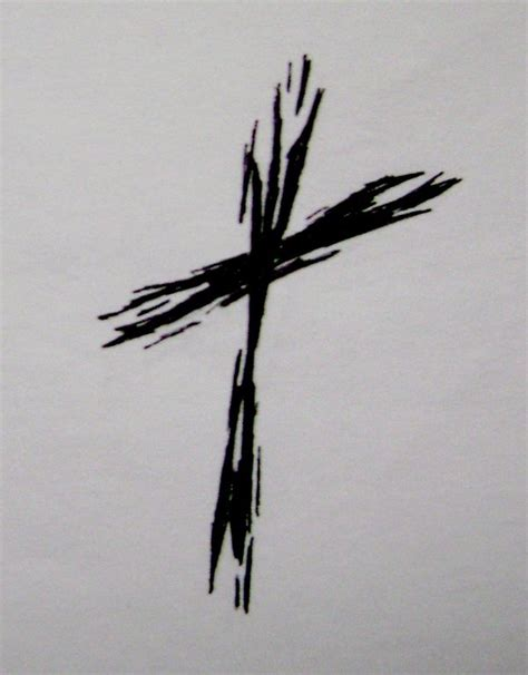 rough cross tattoo by typowilliams on deviantart