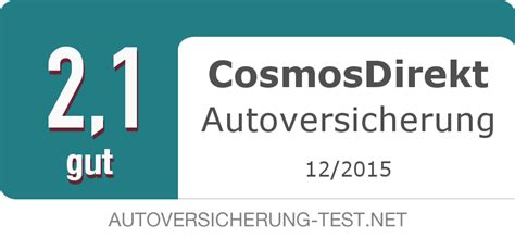 Autoversicherungen Cosmosdirekt by Cosmosdirekt Autoversicherung Test Der Gro 223 E Testbericht 2018