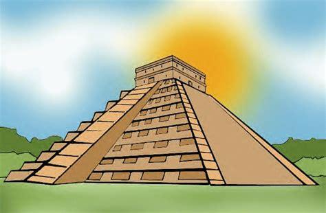 imagenes piramides mayas mayas dibujos piramide imagui