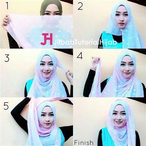 hijab tutorial everyday simple hijab segiempat 36 best hijab tutorial tutorial hijab modern images on