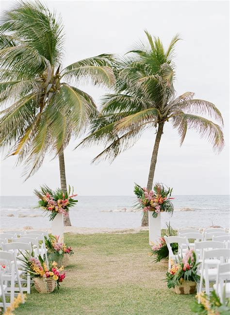Wedding Ceremony Jamaica by An Tropical Wedding In Jamaica Bajan Wed