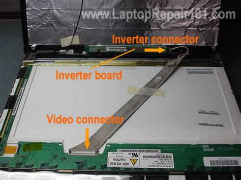 Mainboard Motherboard Lcd Led Monitor Acer X163w new screen installed but not working laptop repair 101