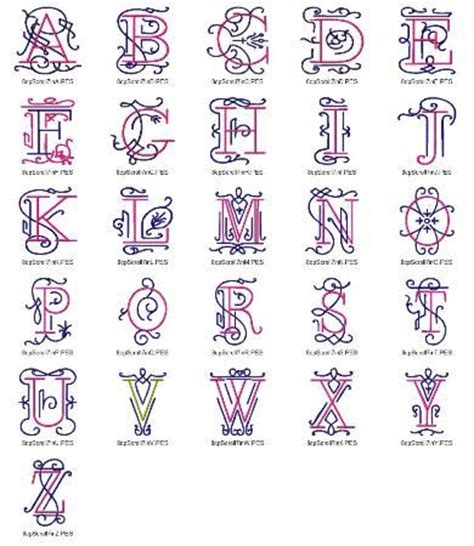 scroll pattern font 45 best images about monogram fonts on pinterest fonts