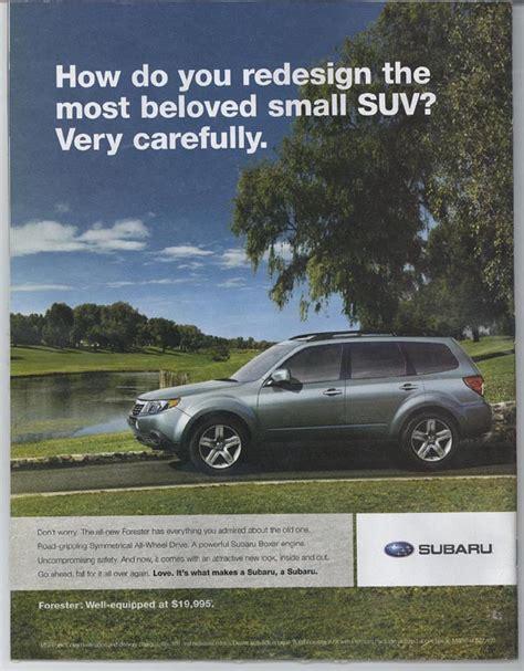 subaru ad subaru advertising photographs page 1