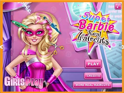 barbie haircut games to play barbie hair salon games for kids youtube