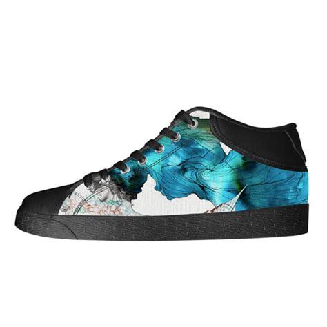 custom chukka canvas shoes model003