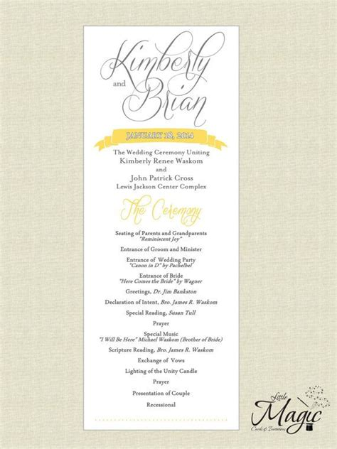 sle of wedding reception program printable diy wedding reception programs wedding reception program diy wedding reception and