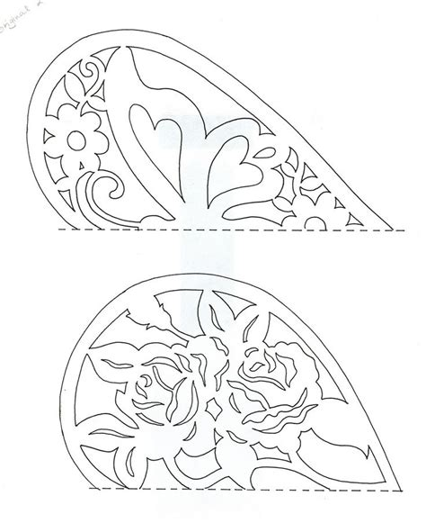 free paper cut out templates paper cut patterns free images