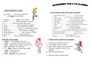 all worksheets 187 tenses worksheets pdf printable