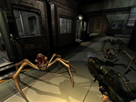 play doom 3 in 3d doom 3 linux game database