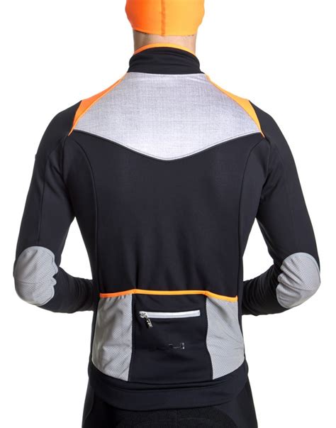 winter cycling jacket men s orange winter cycling jacket g4 dimension