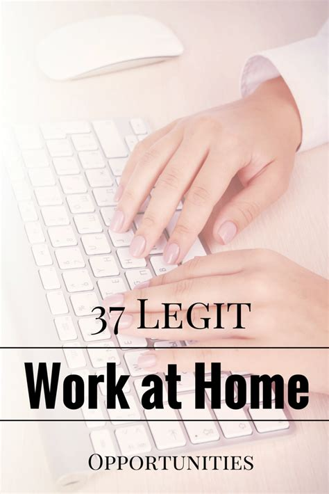 37 legitimate work from home 1099