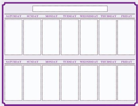 weekly calendar template with times weekly blank calendar template 2 calendar
