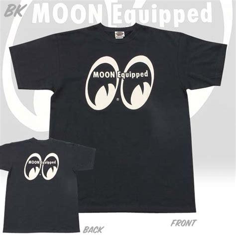 moon equipped logo  shirt