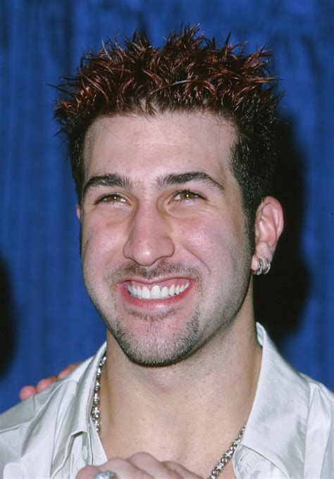 Joey Futon joey fatone bomb dot 90s heartthrobs to follow on popsugar