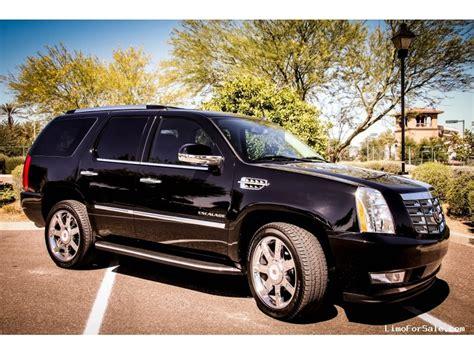 2014 Cadillac Escalade For Sale by Used 2014 Cadillac Escalade Suv Limo Chandler Arizona