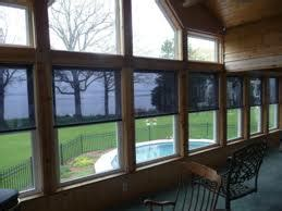 Interior Solar Screens by Interior Mounted Roller Shades By Eclipse Shading Systems