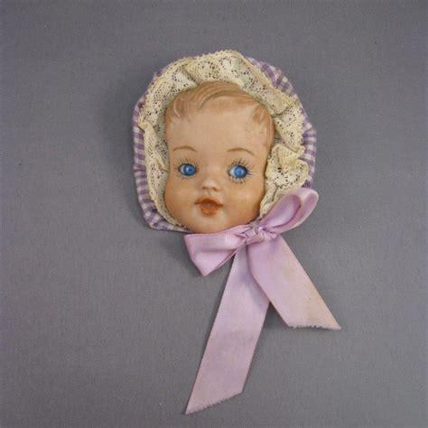 porcelain doll 1940s baby doll pin porcelain bisque vintage c 1940