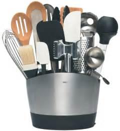 oxo stainless steel utensil holder in kitchen utensil holders
