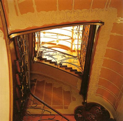 Stairs Design by My Architectural Moleskine 174 Victor Horta House Studio In Brussels