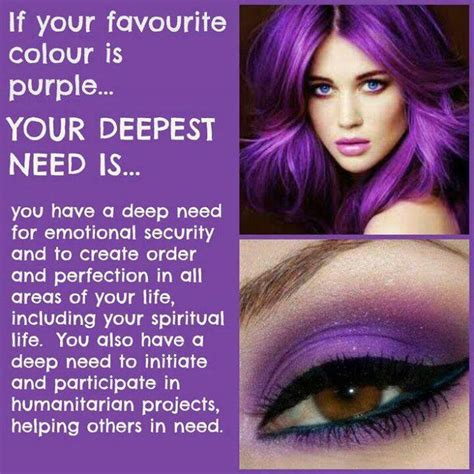 meaning of the color purple purple my favorite color