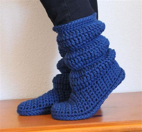 slipper boots crochet pattern cozy slippers crochet boots knitting patterns and