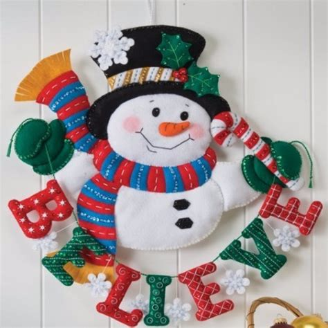 Decorations Kits To Make by 39 Felt Ornament Crafts To Trim