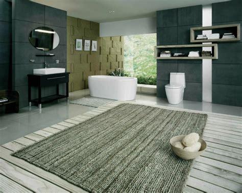 teppich im badezimmer coole badteppich designs f 252 r den badezimmer boden