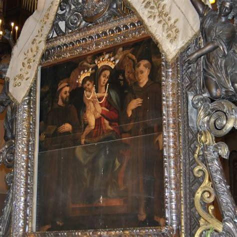 madonna della consolazione reggio il quadro della madonna della consolazione a santa