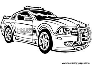dodge charger police car coloring pages printable