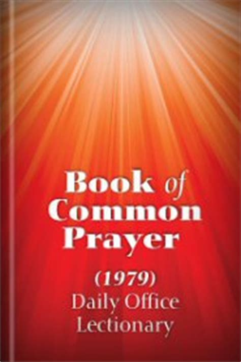 Daily Office Lectionary by Book Of Common Prayer 1979 Daily Office Lectionary