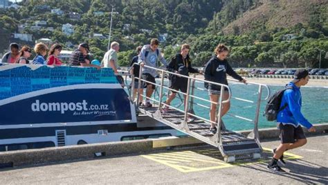 boat service wellington proposed wellington city to airport ferry service needs
