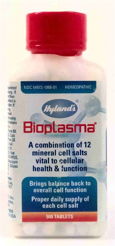 Des Bio Cellular Detox Homeopathic by Hyland S Homeopathic Bio Plasma Cell Salts Valley
