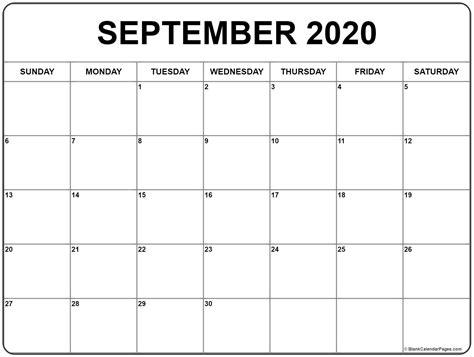 printable  calendar september  printable calendar