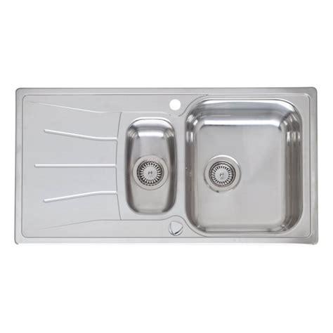 reginox kitchen sinks reginox elegance diplomat 1 5 stainless steel inset
