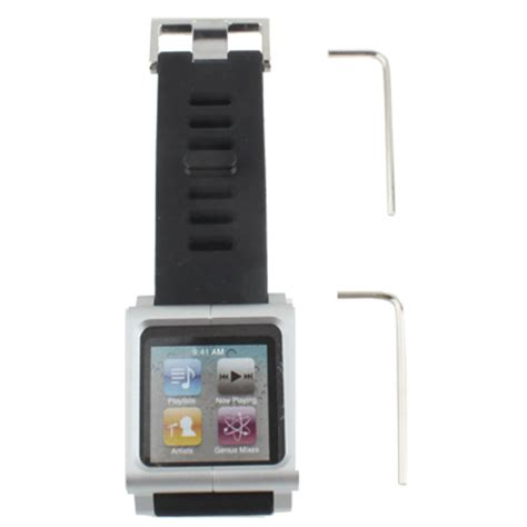 Ipod Nano Multi Touch lunatik multi touch band for ipod nano 6 silver