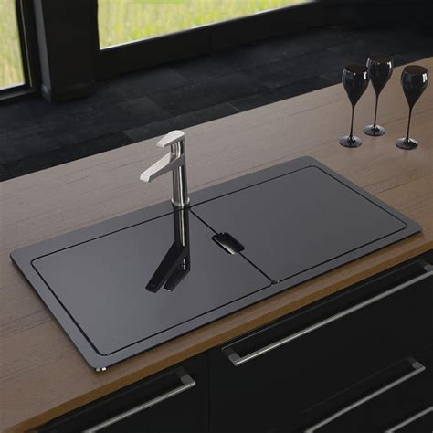 Black Stainless Steel Kitchen Sink Kitchen Sinks Stainless Steel The Homy Design