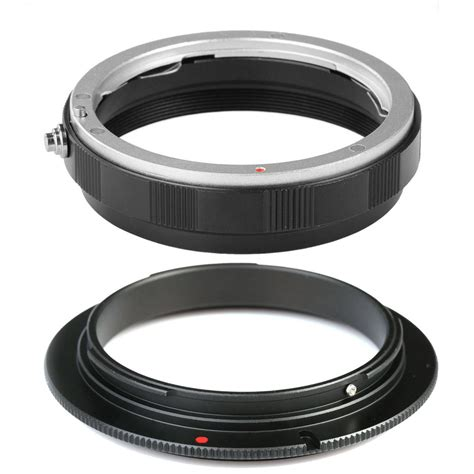 Promo 58mm Macro Lens Adapter Ring For Nikon Ai Af Mount Mu 58mm macro adapter ring lens mount protection ring for canon eos k f concept