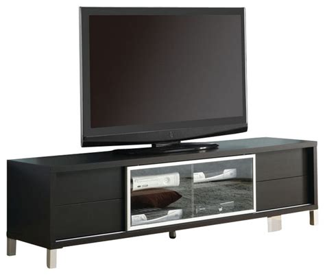 70 inch tv cabinet monarch specialties 70 inch tv console in cappuccino