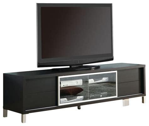 monarch specialties 70 inch euro tv console in cappuccino