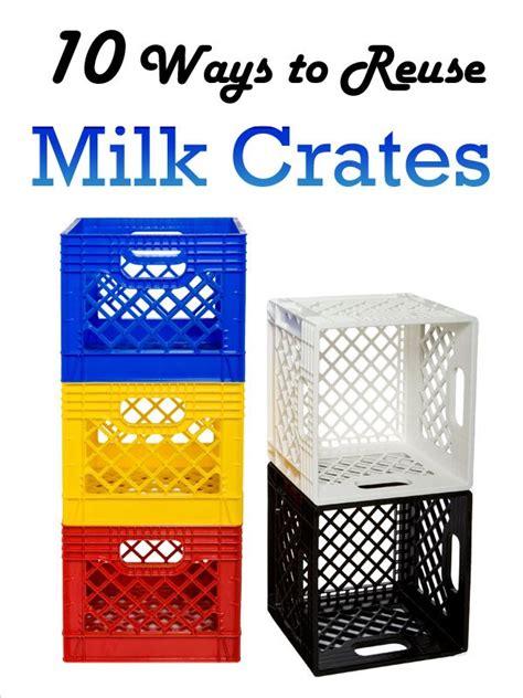 design with milk crates 10 creative ways to reuse milk crates diyprojects