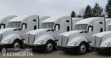 used kw trucks used kenworth trucks service coopersburg liberty
