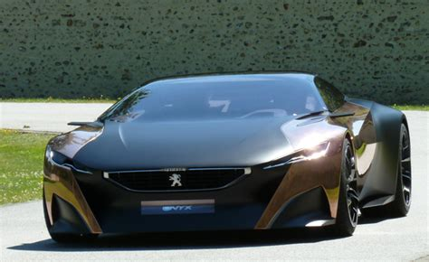 peugeot luxury car peugeot onyx ride a prize at goodwood festival of speed