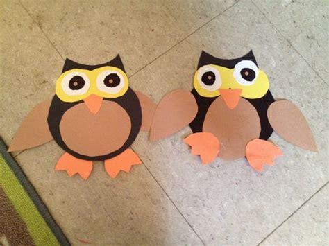 owl pattern for kindergarten preschool owl craft crafts pinterest crafts owl