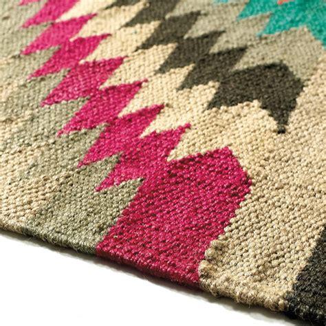 maison du monde teppich alfombra trenzada de de colores 80 x 200 cm acapulco