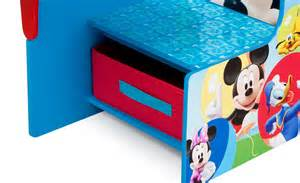 Disney Mickey Mouse Chair Desk With Storage Bin Delta Children Chair Desk With Storage Bin