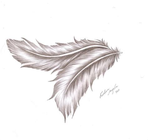 angelic feather by fadwaangela deviantart com on