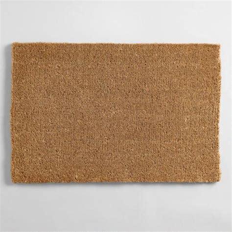 Coco Doormats coir basic doormat world market