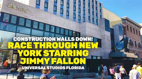 new york through the walls down at race through new york starring jimmy fallon universal orlando youtube